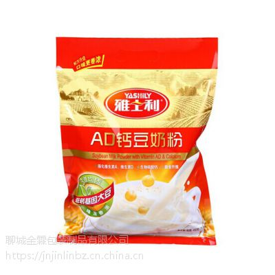 供应红安县奶粉袋/自立拉链袋/免费设计/金霖包装制品