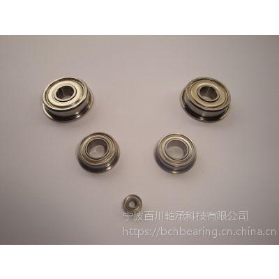 SFR6ZZ 440材质不锈钢法兰 百川轴承OEM办公设备