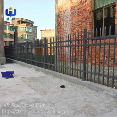 福建围墙护栏厂家低价批发厦门锌钢围墙栅栏小区别墅围栏