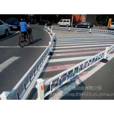 兴品工厂供应道路护栏马路中间京式交通隔离栏公路不锈钢安全防撞栏
