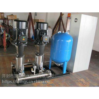 二次加压供水设备恒压供水高层用水定制加工开封市蓝海直销