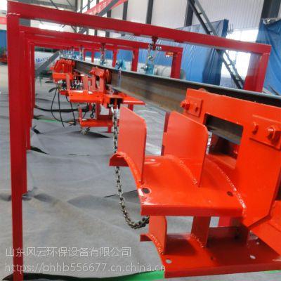 山东风云厂家生产矿用单轨吊 液压电缆拖运悬挂装置