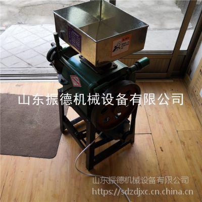 商用型熟花生米轧胚机 振德 小型花生破碎机 油店订购 高粱破碎机 报价