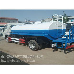 厂企小型洒水车福田六轮3-5吨洒水车价格