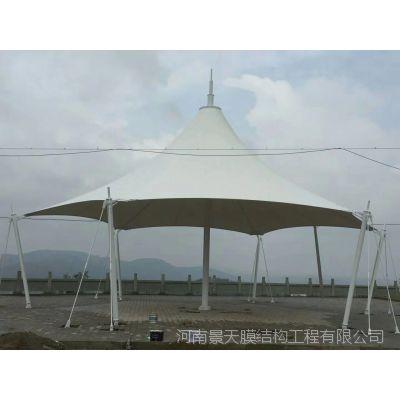 河南景天景观遮阳遮雨膜结构棚厂家定制