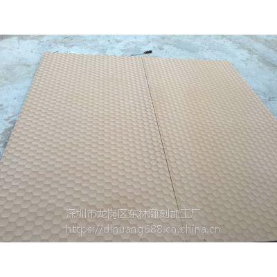 福建厂家专业定制装饰装修板材立体波浪板蜂窝纹素板2019最新款