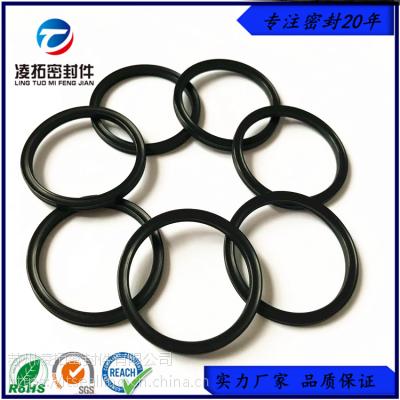 抗溶胀耐腐蚀高氟O型圈耐磨损含氟量高进口优质氟素橡胶O型圈