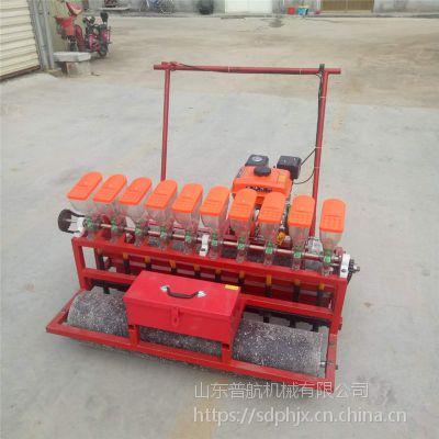 普航 汽油自走式小颗粒种子精播机 四轮车带苜蓿播种机 汽油播种机