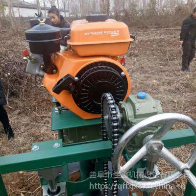 佳鑫厂家耐用型支架挖坑机 大棚埋桩打坑地钻机 捕鱼用钻冰眼机性能优越