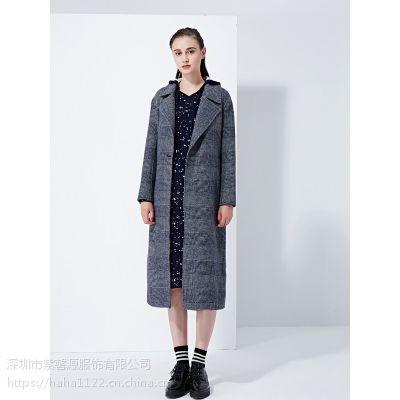 供应大码真丝连衣裙品牌女装折扣尾货