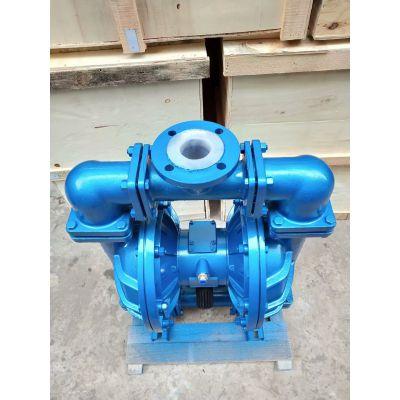 QBY3/QBK-10铸铁气动隔膜泵 厂家 往复泵 膜片泵 丁晴橡胶膜片