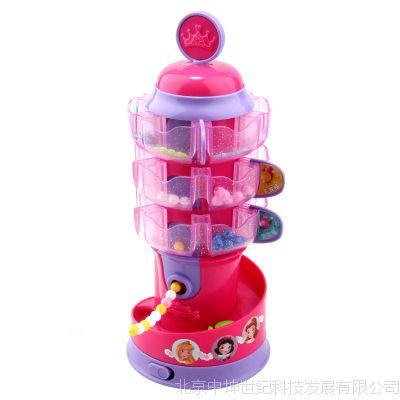 迪士尼儿童串珠机玩具项链首饰穿珠益智女孩创意玩具DIY手工制作