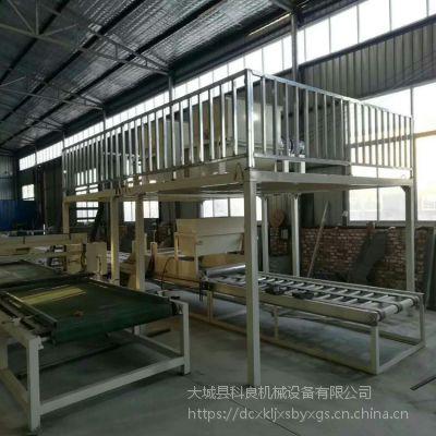河北科良匀质水泥基保温板设备 匀质板生产线厂家