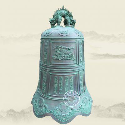 定制寺庙铜钟厂家 纯黄铜寺院撞钟价格