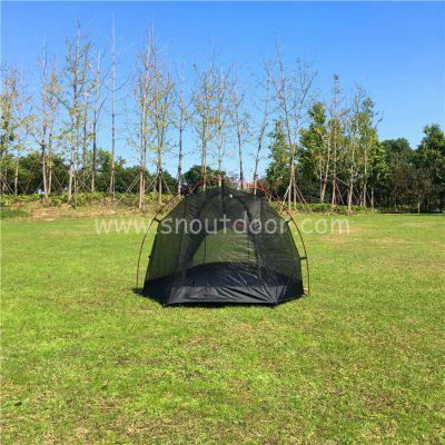 山牛野营用品夏季户外铝杆蚊帐超轻量化透气帐篷