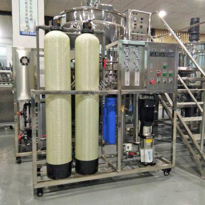 出售工厂用去离子水制取设备诚鑫0.5吨反渗透纯水设备产水量高