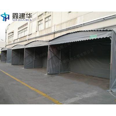 常熟支塘镇简易钢管车蓬 大型仓库雨棚布 户外一顶帐篷多少钱?