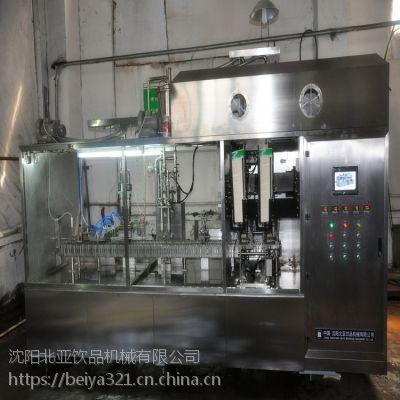 供应屋顶包灌装机,液态食品新颖包装机,盒装产品灌装机高速设备沈阳北亚