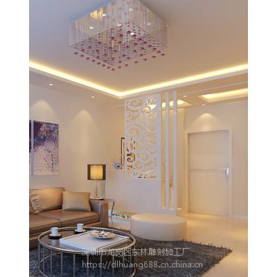 山东烟台波浪板厂家专业时尚现代隔断雕花板通花板镂空板