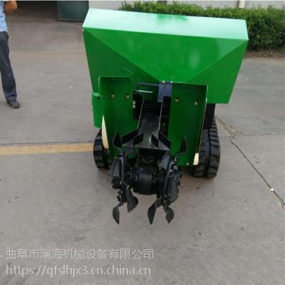 大棚蔬菜农田使用方便的履带式开沟机生产厂家 性能优越 欢迎选购