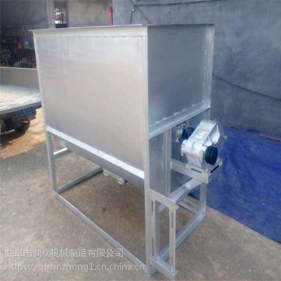 自吸式粉碎搅拌一体机组 养殖场工厂用混料机 锦州卧式搅拌机