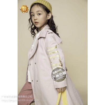 广州批发知名品牌童装2019年春款《洛小米+洛克小镇》纯棉、百搭尾货货源折扣批发
