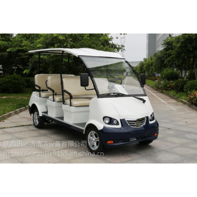 陕西景区公园用8座玛西尔电动观光车DN-8 大型社区别墅用代步车
