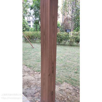 安康木纹漆施工景区镀锌方通廊架仿木纹漆施工 厂家直销水性氟碳木纹漆 硬度高不掉色不开裂