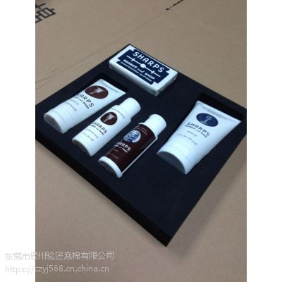 厂家供应 化妆品EVA精雕成型内衬 一体模具成型防静电内托