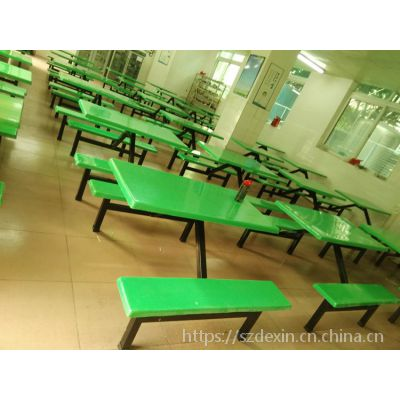 淡水饭堂餐桌厂家 4人快餐桌椅 8人食堂餐桌价格
