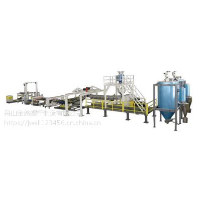 苏州金纬机械PC耐力板生产线