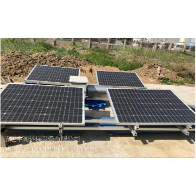 太阳能解层式曝气机,太阳能涌泉曝气机