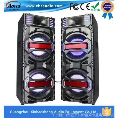 大功率舞台彩灯音响音箱KTV双10寸大功率有源音箱对箱
