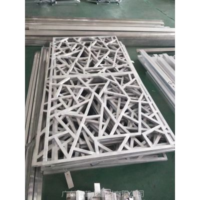 德普龙中式仿古铝合金窗花加工定制直销