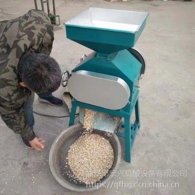 粮食加工麦片机大豆打扁机 小型荞麦压扁机 粮食大豆专用挤扁机