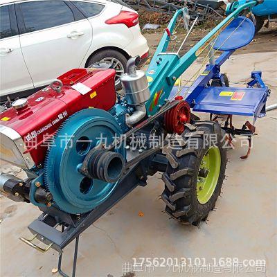 手扶拖拉機新型耕田機 柴油型號手扶車農用小型易操作手扶拖拉機