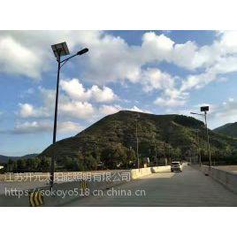 供应福建省福州马尾区质保五年锂电池太阳能路灯品牌厂家