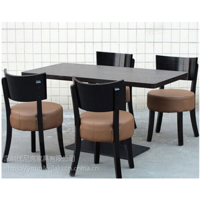 大型快餐桌椅生产工厂在深圳龙岗!