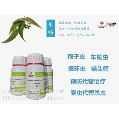 预防河蟹脱壳时细菌感染用龙昌乐畅桉树精油安全无毒素