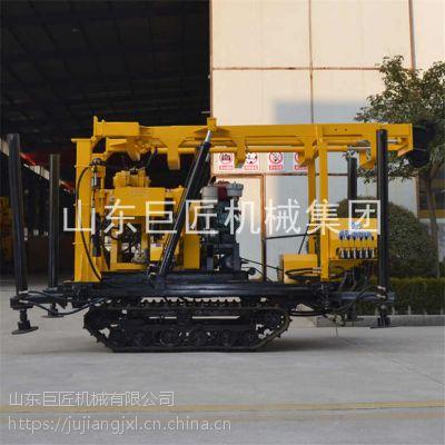 履带式液压钻井机XYD-130液压系统操作简单安全可靠