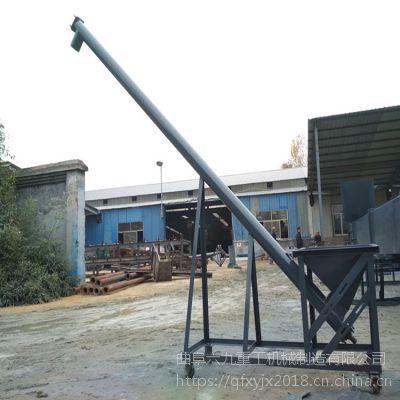不锈钢垂直螺旋加料机来图生产 销售螺旋提升机厂
