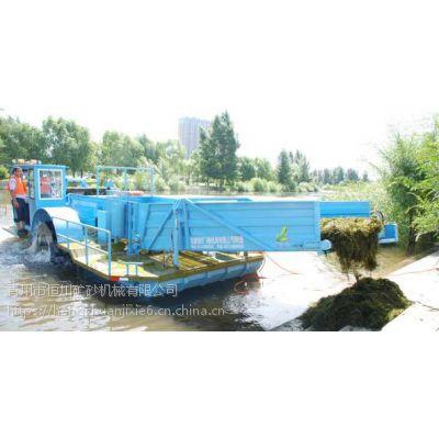 收割水生植物用什么设备 海南水面除草船