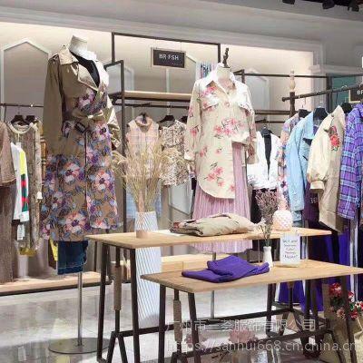 素默夏装品牌折扣尾货女装走份批发一手货源不挑款女装品牌剪标