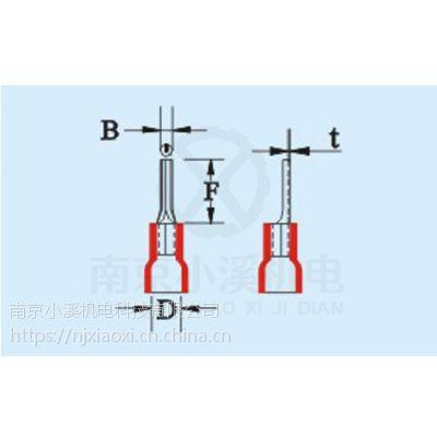 日本富士端子PVC绝缘板形端子VBL5.5-10B 特价供应