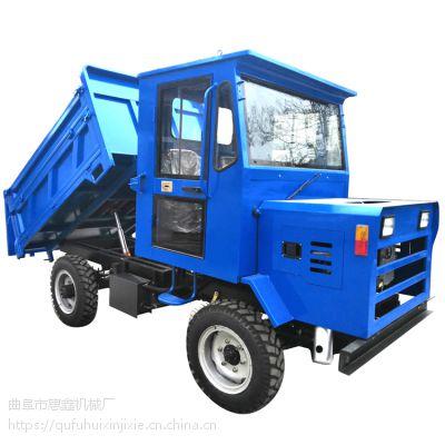 四轮驱动自卸四不像/南澳县山地胎加厚的四轮拖拉机/28马力双排轮四不像