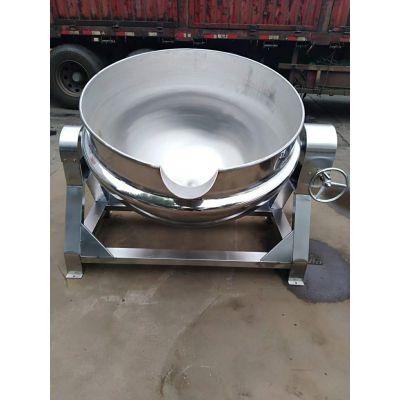 餐厅用卤煮锅 不锈钢夹层锅 可倾式夹层锅厂家