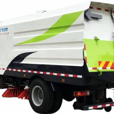 重汽扫路车厂家直销,12方道路清扫车保护城市环境
