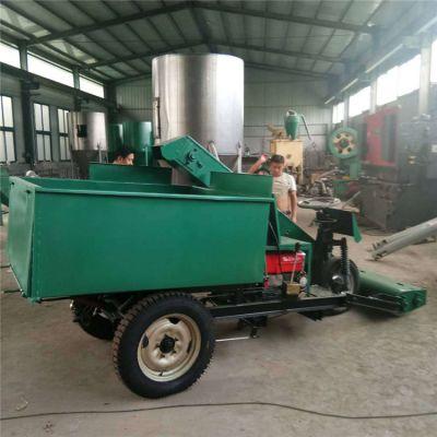 大型养殖场畜牧设备清粪车 自动上料清粪车 牛场粪便清洁铲粪车