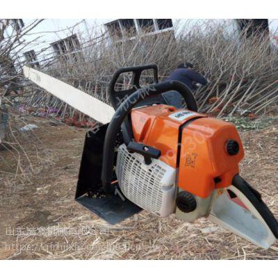 链锯式汽油挖树机 断根切土起树机浩发
