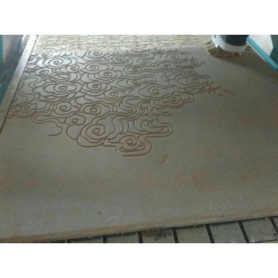 广东波浪板专业定制祥云线条波浪板装饰板背景墙